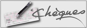 Logo cheques